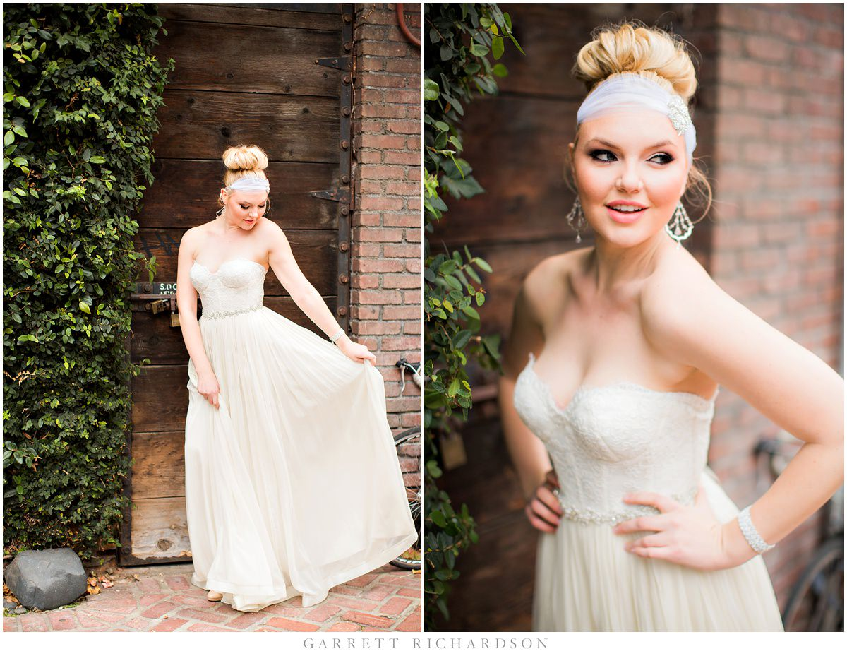 Ideas San Diego Wedding Dresses downtown san diego bridal boutique shoot elle styled bride