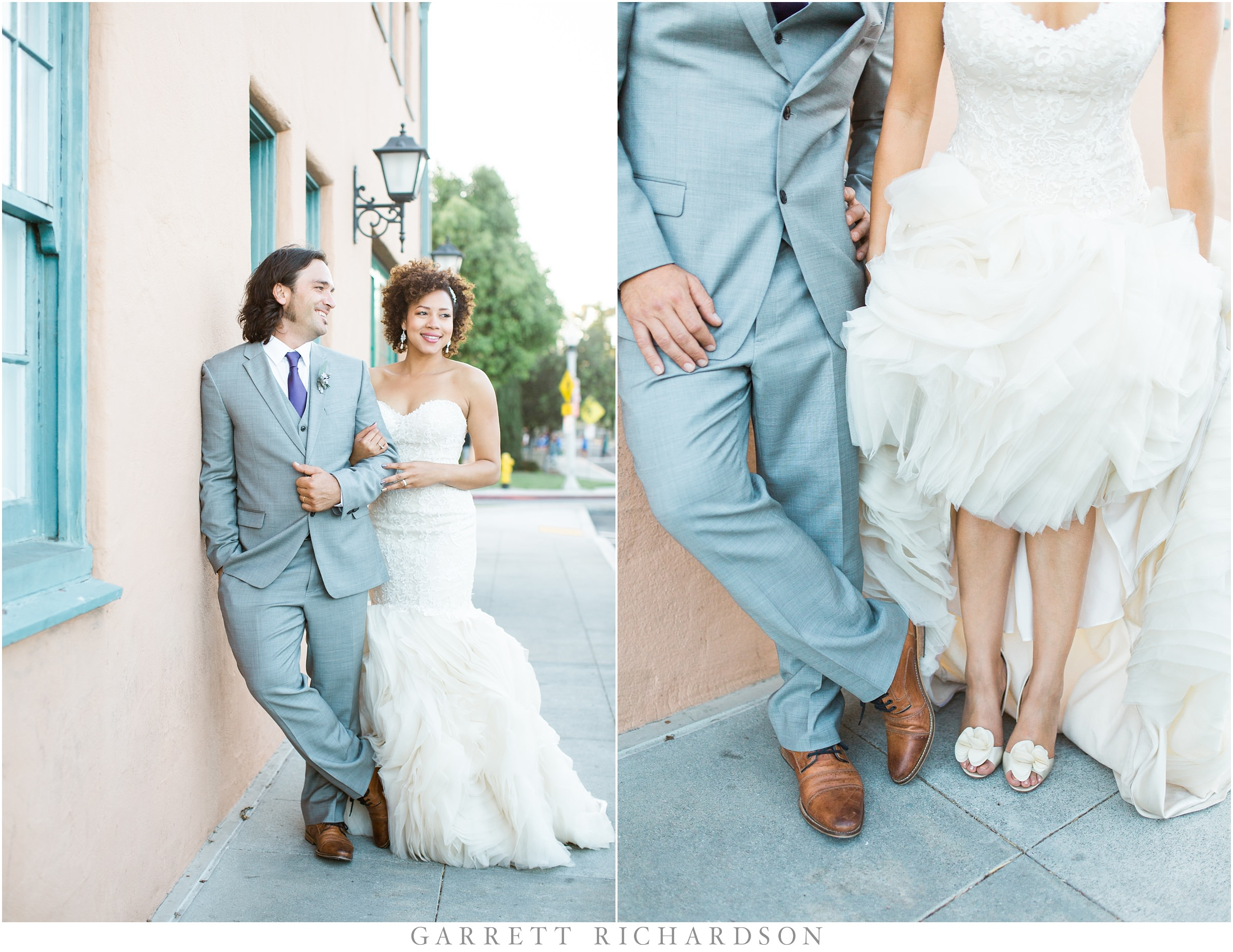 San Diego BRICK Wedding | Andra & Harry - Garrett Richardson Photography