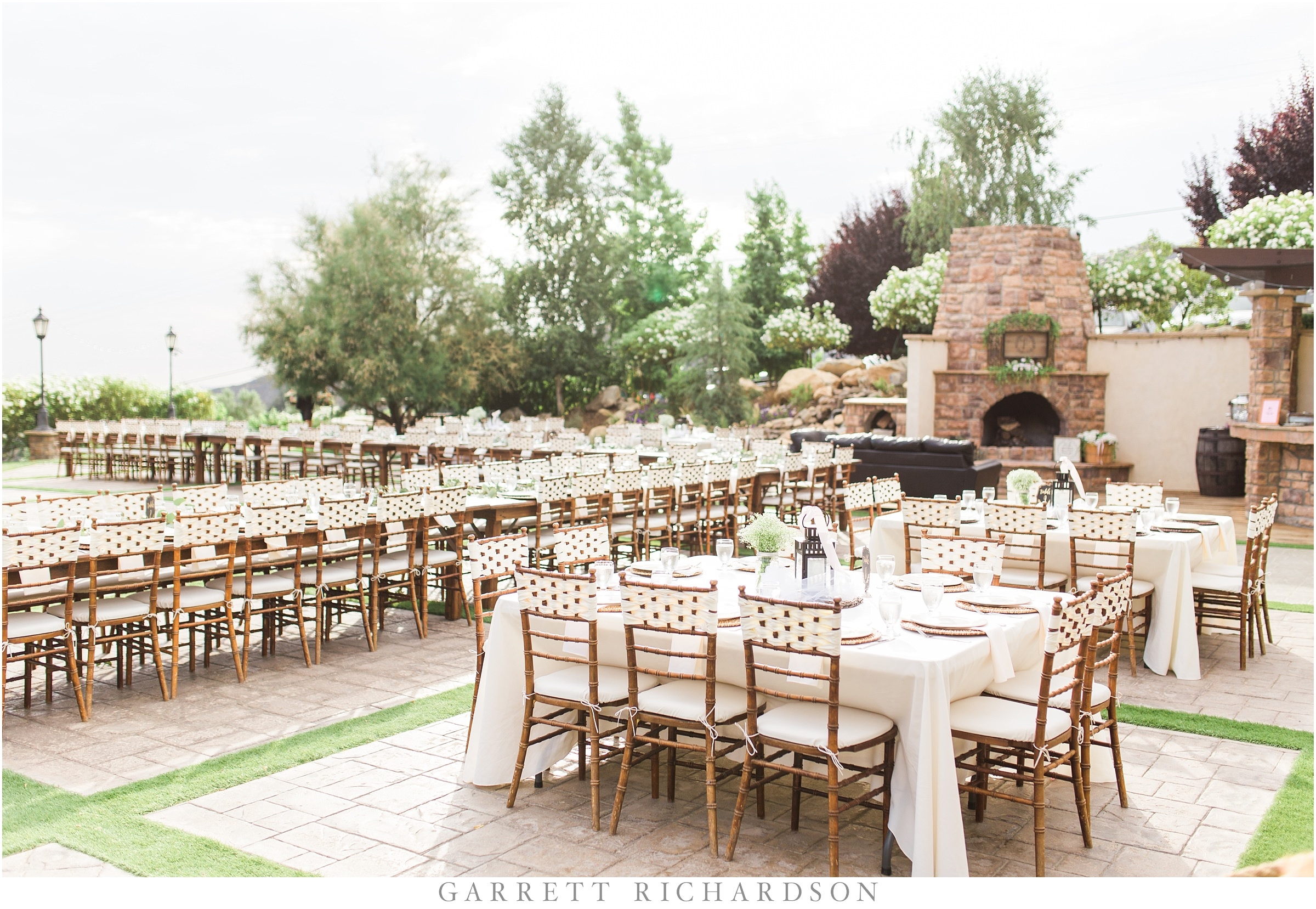 Oak glen garden wedding allyson ryan garrett richardson photography Garden wedding venues los angeles