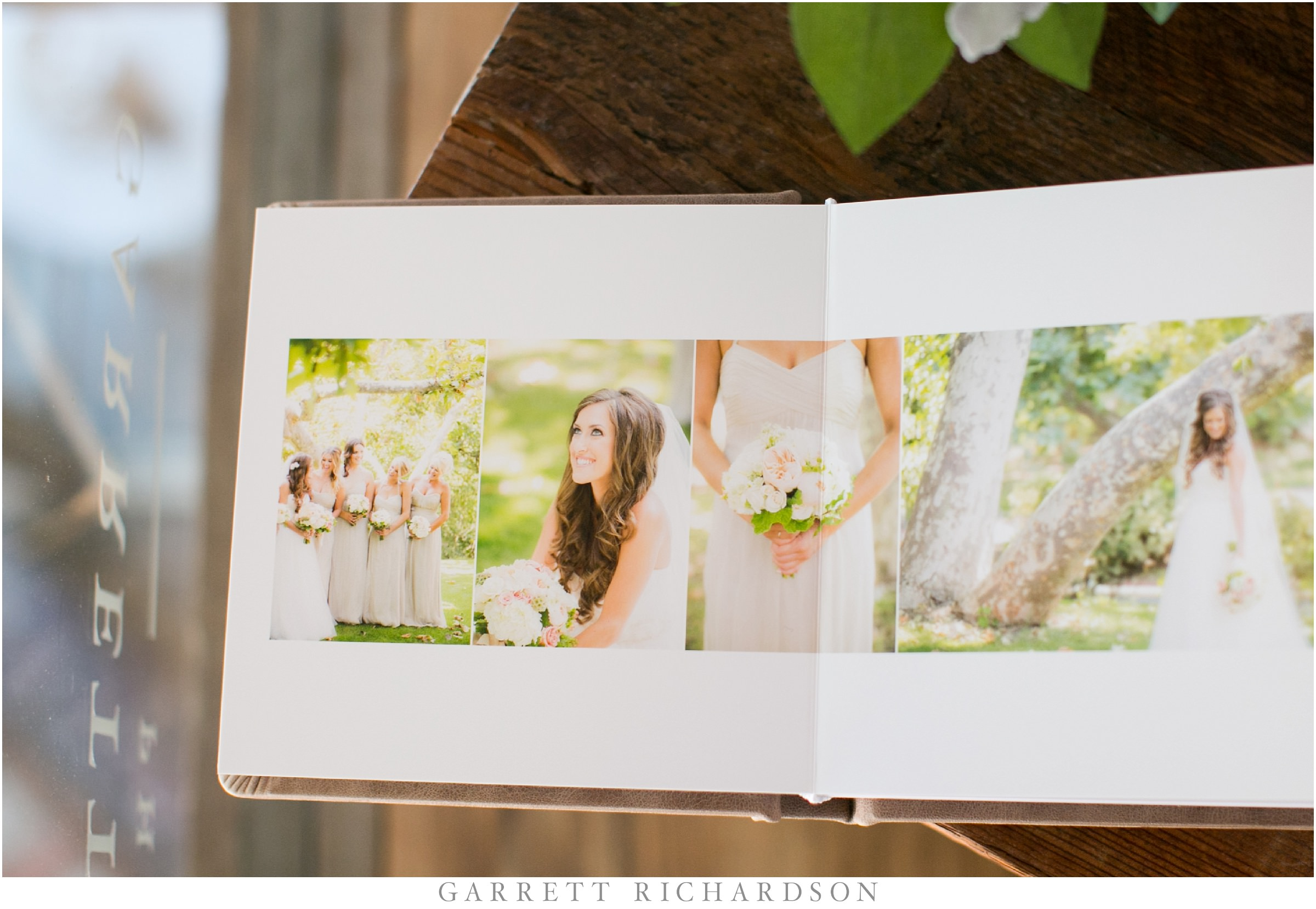 Real Weddings And Prices: Fine Art Leather Wedding Album